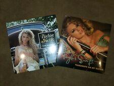 "Taylor Swift ""Tim McGraw"" & ""Teardrops On My Guitar"" 7"" 45rpm Vinyl Records SET"
