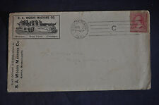 1891 S A Woods Machine Company Envelope