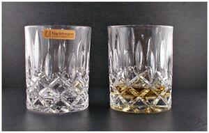 2 Whisky Whiskey Gläser Tumbler Noblesse Nachtmann Glas 1. Wahl Original Karton