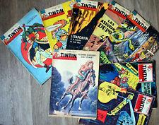 TINTIN le journal HERGE 1959 Tintin au Tibet 1961 Les bijoux de la Castafiore