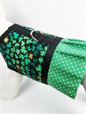 St. Patrick's Day Shamrock Dog Harness Vest Dress Ruffle Skirt