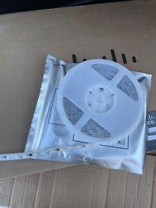 16ft 5630 300 LED Strip Light DC12V 6A W/3M Non-Adhesive