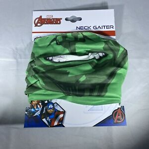 Official Marvel Avengers Hulk Neck Gaiter Mask Motorcycle Hunting Outdoor Sports