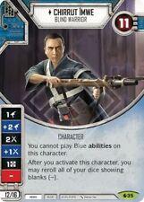 x1 Chirrut mwe - Blind Warrior 35 Rare Star Wars Destiny Spirit of Rebellion M/N