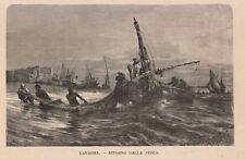1876 Lavagna xilografia