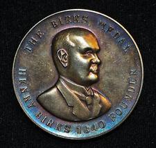1972 Birks Medal, Sterling Silver - Named