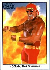 TNA Hulk Hogan #91 OBAK Retro Card Short Print LE /600 2010 Tristar New Era DWC