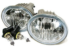 For 03-08 Matrix Vibe GLASS Fog Light Lamp RL H Pair W/2Bulbs/Metal Body NEW