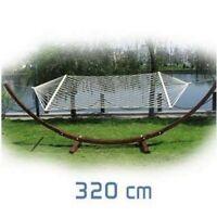 LINXOR FRANCE ® SUPPORT FILET POUR HAMAC 3.20M DE LONG / Jardin / Toile
