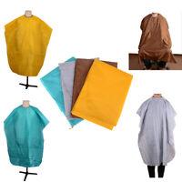 Hair dressing gown cape hair cutting salon barber nylon cloth wrap protect-CH