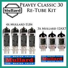 Peavey Classic 30   Mullard Upgrade / Retube / Tube Kit / Tube Complement