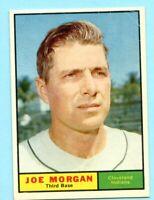 1961 Topps # 511A Joe Morgan  (NM) -- Indians    (Box # 702)