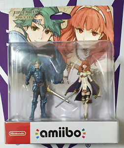 Amiibo Fire Emblem Echoes Shadow of Valentia Alm and Celica NEW SEALED