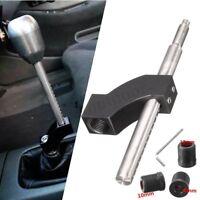 Shift Knob Extender Extension Lever Gear Shifter For Honda Aluminium Black New
