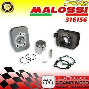 316157 CILINDRO MALOSSI GRUPPO TERMICO GHISA 46,5 75cc SPIN. 12 PIAGGIO CIAO 50