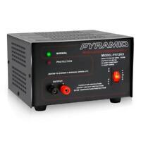Pyramid 10 Amp Power Supply - Input: 115V AC, 60Hz, 250W. Output: 13.8V DC
