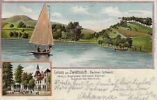 GOSEN-Zwiebusch, Gruss aus, AK von 1905