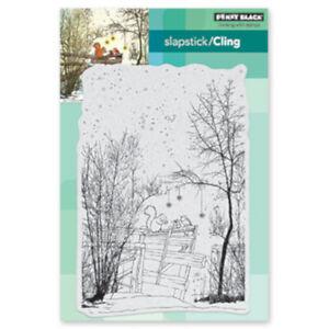 "Stempel ""Under the Trees"" Penny Black Cling Stamp Winterlandschaft"