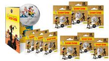 Série Complète 10 Medailles Touristique Monnaie Paris Colorisée LUCKY LUKE !