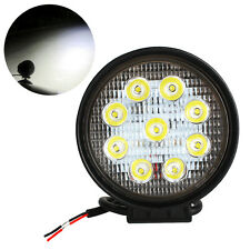 4 Inch 27W LED Lamp 12V 24V Spot Beam Light ATV Car Truck Boat Round Fog Light
