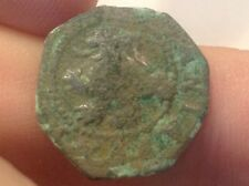 Spain King Phillip III early 1600's Restrike Spanish Copper Coin-Look @ scan >73