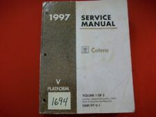 1997 GM FACTORY CADILLAC CATERA SERVICE MANUAL - VOLUME 1 OF 3 ALL MODELS