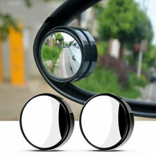 2PCS Side Rear View Blind Spot Mirror HD Universal Auto 360° Wide Angle Convex
