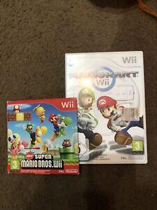 Mario Kart E Super Mario Bross Wii (edizione Italiana)