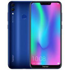 Azul Huawei Honor 8C 6.26'' unlocked 64GB Dual Sim Android 8.1 Smartphone Mobile