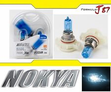 Nokya 7000K White PSX24W 2504 Nok7491 24W Two Bulbs Fog Light Replacement Lamp