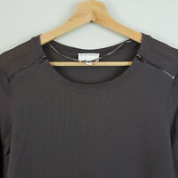 WITCHERY | Womens L/S Brown Top  [ Size XS or AU 8  ]