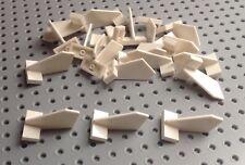 Lego Blanco 2x3x2 Shuttle aleta de cola (44661) x4 en un conjunto * Totalmente NUEVO * ciudad amigos