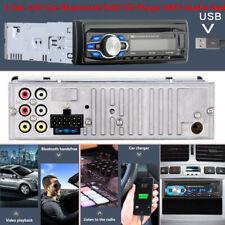 5014BT 1 Din 12V Car Bluetooth DVD CD Player Control MP3 Audio Radio 60WX4 AUX