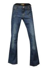 Denim Stonewashed Bootcut Jeans Women's Plus Size
