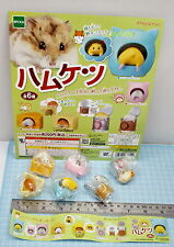 Hamster Life Figure Complete 6pcs+ Display Card - Epoch Gashapon   h#4ok