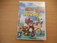 JEU WII - MARIO POWER TENNIS ( AVEC NOTICE )