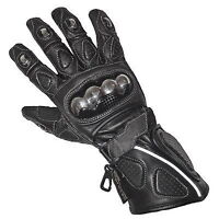 Mens Thermal Motorbike Motorcycle Biker Leather Racing Riding Protection Gloves
