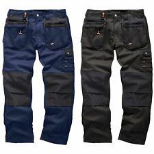 Scruffs Worker Plus Work Trousers Black Navy Cargo Combat Hard Wearing Trouser