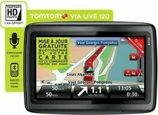 GPS TomTom VIA 120 Cartes France & Europe de l'Ouest avec Alertes Radars