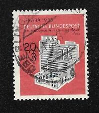 Germany 1953 Telecommunications Building Scott #B333 Used LH