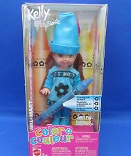 Barbie~Kelly~Walmart~Jenn y~Color~Crayon~Blue~2003~M ib