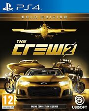 The Crew 2 GOLD Edition Playstation 4 PS4 NEW Release Pre-Order FREE UK p&p
