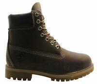 Timberland AF 6 Inch Prem Mens Boots Brown Leather Lace Up Casual