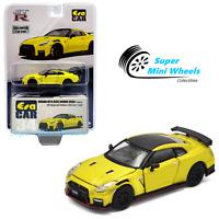 ERA Car 1/64 2020 Nissan GT-R R35 Nismo (Yellow) #34 - USA Exclusives