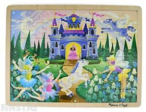Fairy Puzzle | Melissa & Doug Fairy Fantasy Jigsaw Puzzle | Fairies Puzzle Toys