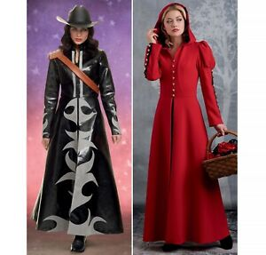 S8914 Sewing Pattern Fantasy Costume Red Riding Hood Coat 39363589747 Size 6-14