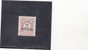 PORTUGUESE GUINE POSTAGE DUE (1919)  NOT ISSUED