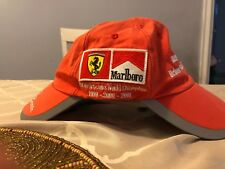 1999-2001 F1 Constructors World Champions Schumacher   Barrichello Dual  Brim Hat 03339a707d8