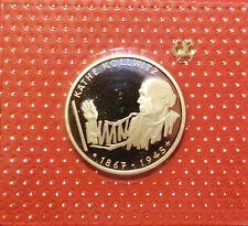 BRD 10 Deutsche Mark 1992 G Käthe Kollwitz PP  15,5g  625er Silber