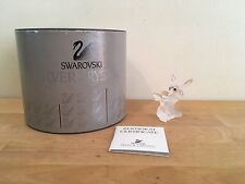 Swarovski Silver Crystal Bumblebee 7615 Nr 000 002 Mint w/ Container & Coa